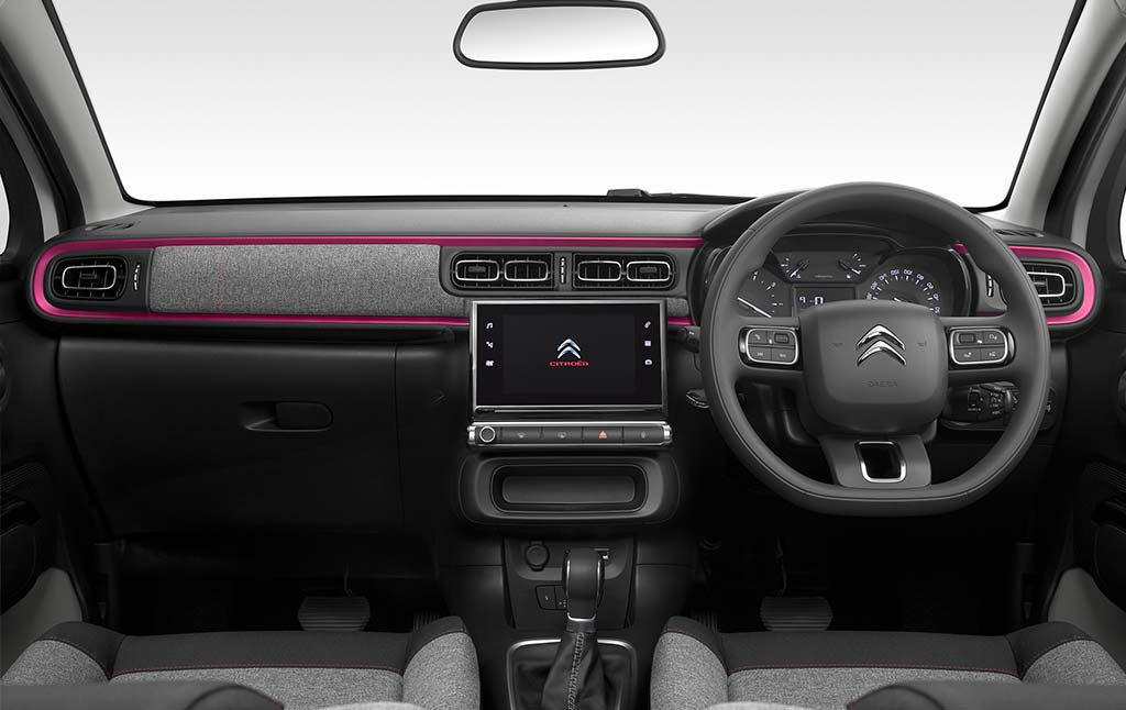 new-citroen-c3-elle-special-edition-dashboard-interior
