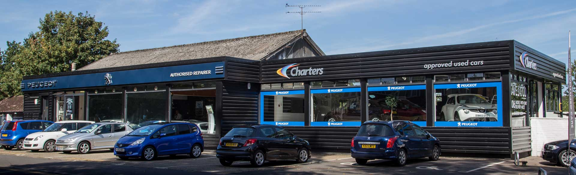 charters-reading-used-car-centre-showroom